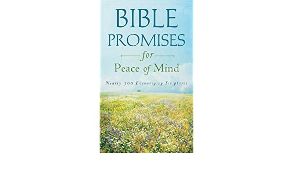 Bible Promises for Peace of Mind: Nearly 500 Encouraging Scriptures (Value Books)