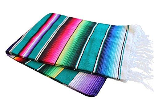 Del Mex Mexican Serape Blanket (X-Large