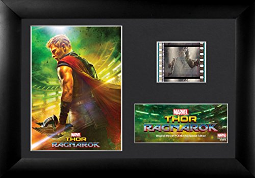 "Trend Setters Ltd Mini Thor Ragnarok Framed Film Cells Wall Art, 7""x5"""