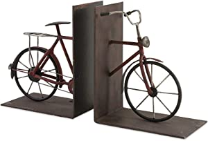 IMAX 74435-2 Renee Bicycle Book Ends, Set of Two