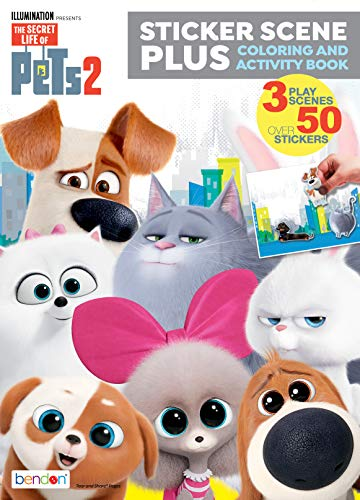Secret Life of Pets Coloring and Activity Book Sticker Scene Plus 42510