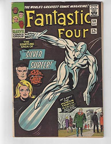 (Fantastic Four #50/Silver Age Marvel Comic Book/Silver Surfer/FN-)