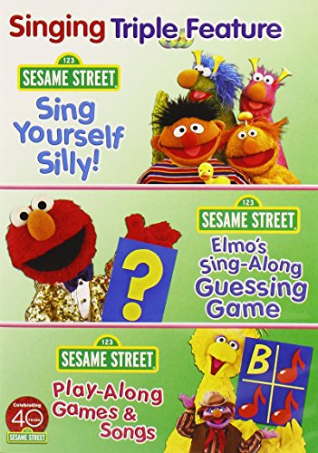 (Singing Triple Feature: Sing Yourself Silly/Elmo's Sing-Along Guessing Game/Play-Along Games and Songs)
