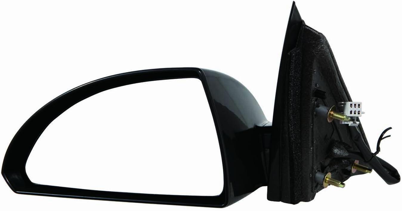 Depo 335-5406L3EBH Black Driver Side Power Heated Mirror