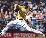 Josh Hader Autographed Photograph - 8x10 W coa - Autographed MLB Photos