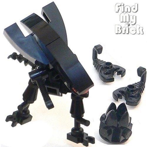 VII Lego Custom Alien Queen Minifigures with Egg & Huggers ( Version II ) NEW (US Seller)