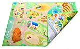 Kids Double Sided Felt Play Mat - 2 in 1 City