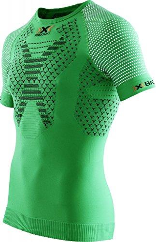 X-BIONIC - Running Twyce Shirt S/S, color verde