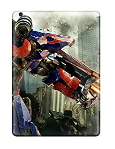 High Impact Dirt/shock Proof Case Cover For Ipad Air (optimus Prime In Transformers 3)
