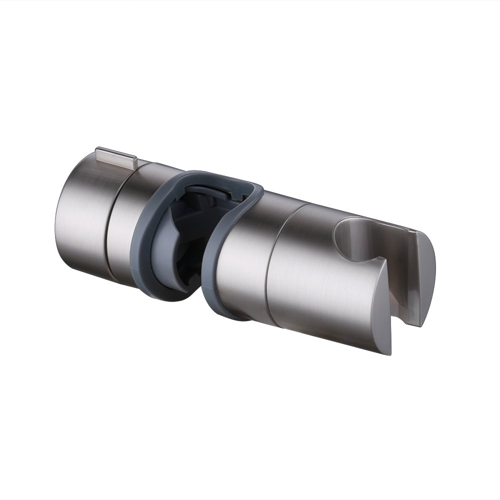 KES Replacement Hand Shower Bracket for Slide Bar Adjustable 18-25MM O.D, Brushed Nickel, PB4-2 KES Home
