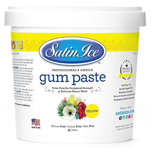 Satin Ice Yellow Gum Paste, 2 pounds, Decorative Sugar Icing by Satin Ice (Image #6)