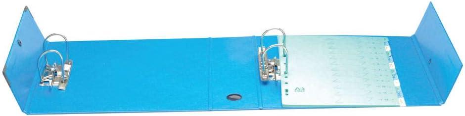 Arianex Classeur /à deux leviers Millex en PVC dos de 9.5cm Rouge