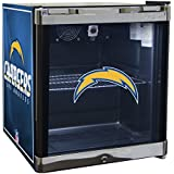 Glaros Officially Licensed NFL Beverage Center / Refrigerator - Los Angeles Chargers