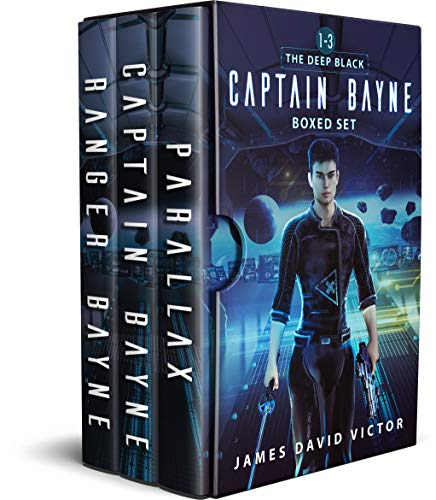 Captain Bayne Boxed Set: The Deep Black: Books 1 - -