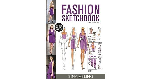 Fashion sketchbook bundle book studio access card livros na fashion sketchbook bundle book studio access card livros na amazon brasil 9781501395352 fandeluxe Image collections