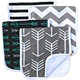 "Burp Cloths 20"" by 10"" 2 Layers Cotton Plus 1 Layer..."