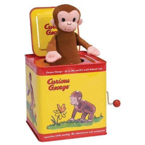Curious George New Jack-In-The-Box