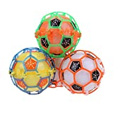 GreenSun TM Children Electric Dancing Football Flashing Music Toy Glow Football Children Classic Toy Kids Birthday Glow Party Supplies Toys