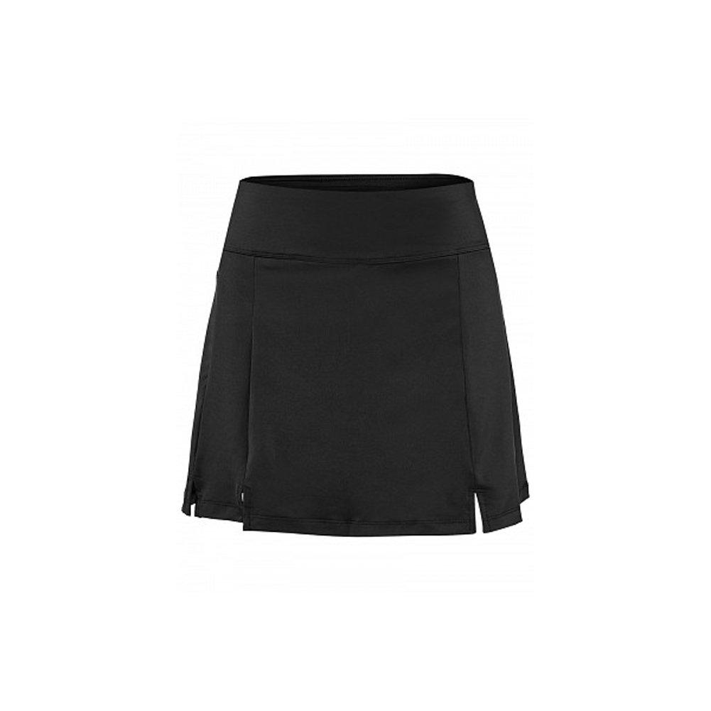Fila Women's Long Double Slit Skort, Black, M