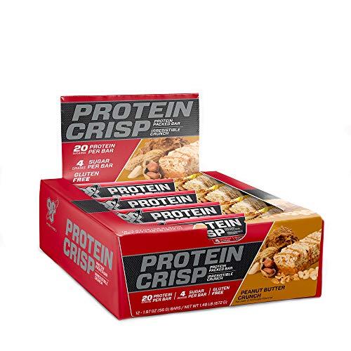 Advanced Protein Bar Peanut Butter - BSN SYNTHA-6 Protein Crisp - Peanut Butter Crunch