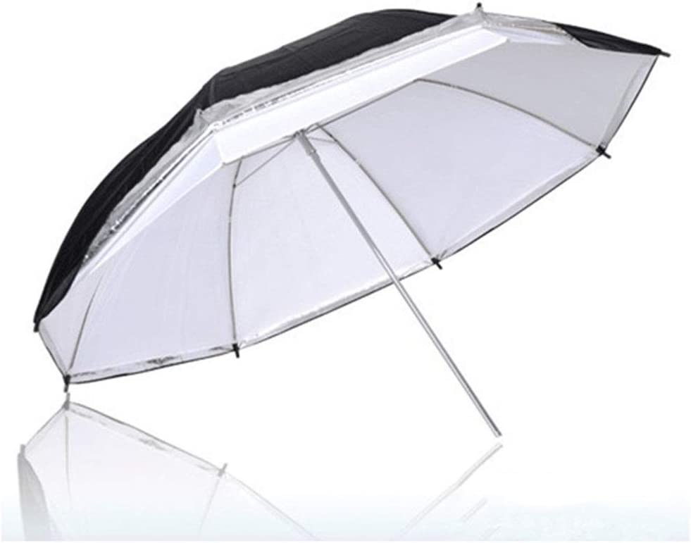 Yuehjnba Photographic Reflector 33 Inch Double Umbrella 2 in 1 Detachable Photography Umbrella Professional Studio Flash Translucent White Umbrella Suitable Suitable for Photographers
