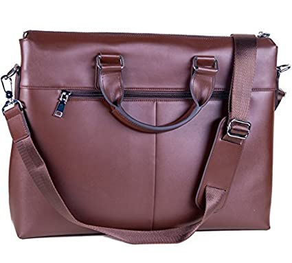 713019e65b5c40 Laptop Bag Leather for Men or Women - fits 13 14 15 inch Laptops MacBooks -