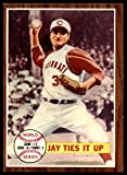 Topps 1962 233 World Series Game 2 Jay Ties It Up Near Mint Reds