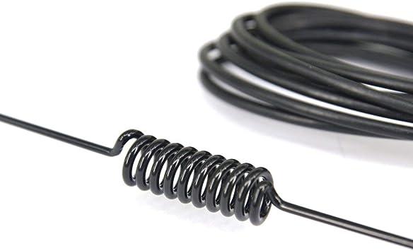 10 dbi 433 MHz Antena de dipolo de media onda SMA macho con base magnética para amplificador de señal de radio de jamón, repetidor inalámbrico