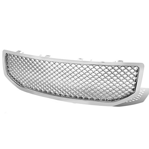 - For 06-10 Dodge Caliber ABS Plastic Sport Mesh Front Grille (Chrome) - PM MK