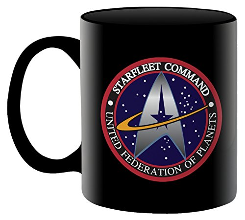 Aquarius Star Trek Starfleet Logo 11 oz Boxed Ceramic Mug (11 Oz Logo Mug)