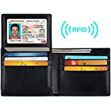 Seeduck Genuine Leather RFID Blocking Wallets Mens Wallet