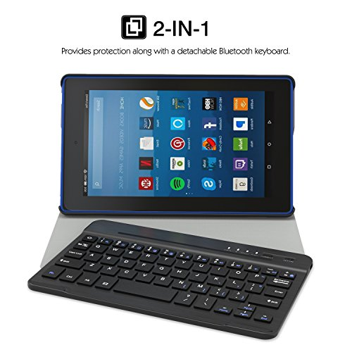 Compare kindle fire hd 7 and 8  keyboard