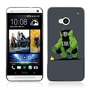 Designer Depo Hard Protection Case for HTC One M7 / Water Bomb Squad