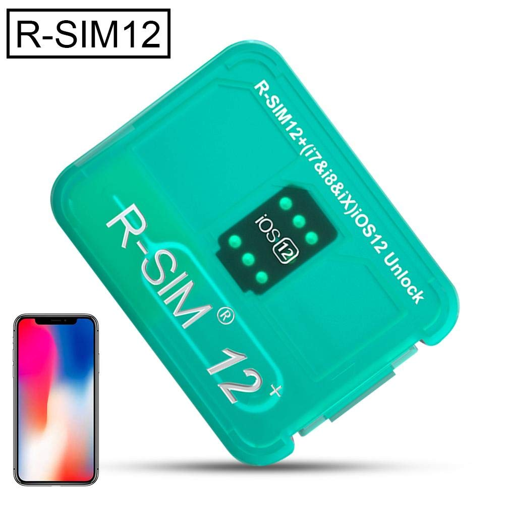 Ridecle Unlock Card SIM12 Super Unlock Card Sticker for iPhone X//8//7//6//6s//5//4G iOS 12 X Xr Xs Xsmax-New Version Automatic Bomb Menu Version Perfectly Unlock The Global Rsim R-SIM12 R-sim Card Tool