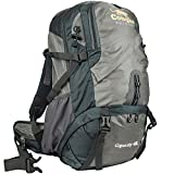 STORMPAK Outdoor Hiking Backpack For Men & Women, Lightweight Rucksack With Tensioned Mesh Backpanel, Sleeping Bag Compartment & Free Rain Cover, Best For Camping, Trekking and Travel - 40L