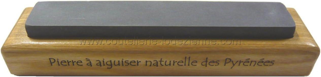 Pierre  à aiguiser naturelle des Pyrénées 300 X 50 X 20 qualité demi dure