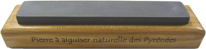 Pierre à aiguiser naturelle des Pyrénées SAURAT 23 demi dure qualité supérieur