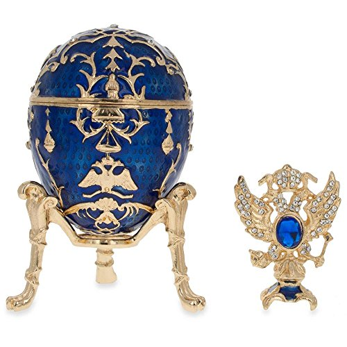 BestPysanky 1912 Tsarevich Royal Russian Egg for sale  Delivered anywhere in USA