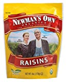 Newman's Own Organics California Raisins (12x6Oz)