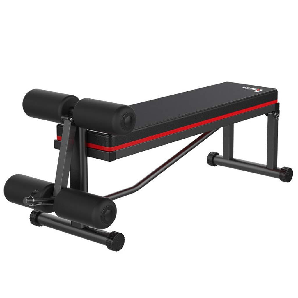 Lxn Einstellbare Gewicht Bänke Sit up Bank Bauch Übung Crunch Board Schwarz Home Gym Verwendung Faltbare Fitnessgeräte Sit-ups Bank, Multifunktionale Fitnessgeräte