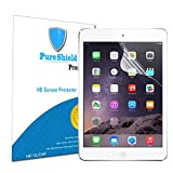 Pure Shield [3-Pack] Clear Screen Protector for iPad Air 1 / iPad Air 2 / New Apple iPad Air with Retina display High Definition (HD) High-Response Xtreme Scratch Defender Premium with Lifetime Warranty Screen Guard by Pure Shield (HD Clear)