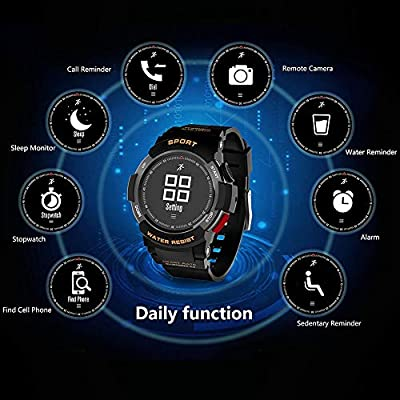 Zerone Fitness Tracker Reloj deportivo, IP68 impermeable al ...