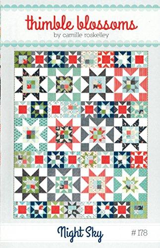 Night Sky Quilt Pattern, Fat Quarter Friendly, 64