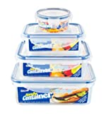 Sozali set of four handy containers - plastic storage by Sozali