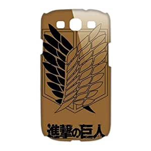 Howdy Attack on Titan Hard Case Cover Skin for Samsung Galaxy S3 I9300-1 Pack -4