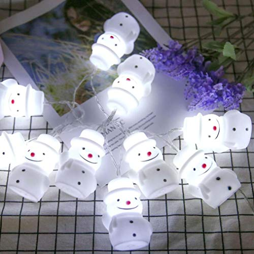 Outdoor Snowman Light Covers in US - 5
