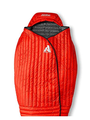 - Eddie Bauer Unisex-Adult Flying Squirrel 40º Sleeping Bag, Pimento Regular ONE S, Red