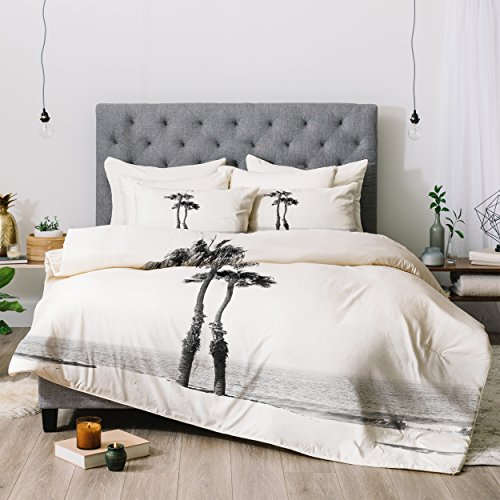 Deny Designs Bree Madden Two Palms Comforter Set, Queen ()