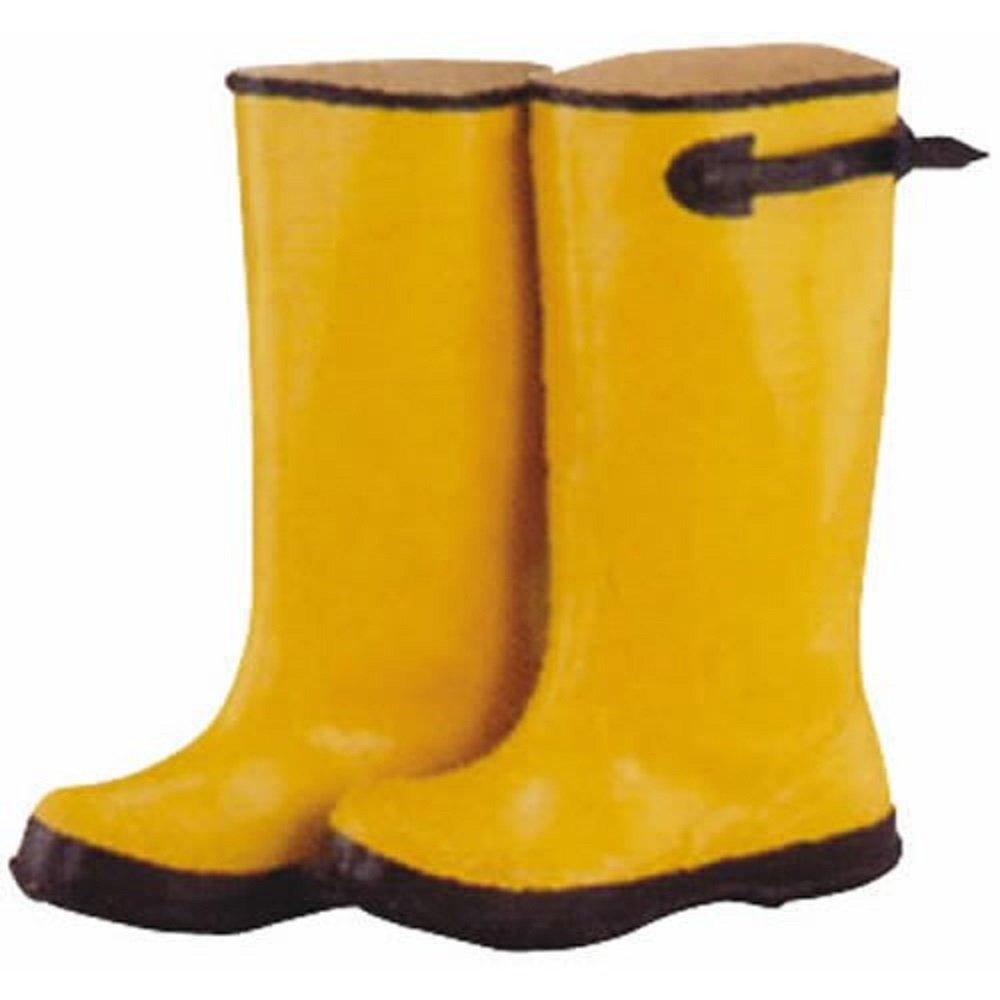 Diamondback Adjustable Cuff Waterproof Over Shoe Boot 15 In Unisex Yellow