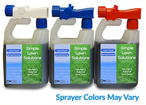 Lawn Food Natural Liquid Fertilizer for Spring and Summer ...